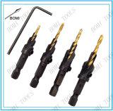 4PCS Counter Drill Bit Set