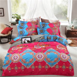 Cheap Reactive Print Bohemian Mandala Style Polyester Duvet Cover Set