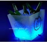 Custom Plastic Acrylic LED Ice Bucket with Logo (BTR-P9019)