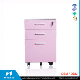 China Supplier Low Price 3 Drawer File Cabinet / Moving Steel Filing Cabinet