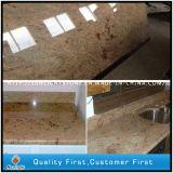 India Yellow Shivakashi Gold Granite Countertop for Kitchen
