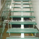 Glass Stairs / Tempered Laminted Glass Stairs / Building Glass