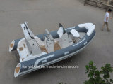 Liya Rib 520 Semi-Rigid Hull Fiberglass Inflatable Boat China Manufacturer