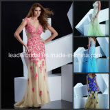 Flowers Cocktail Dress Vestidos Evening Gown Fashion Prom Dresses Ld1159