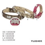 Wholesale China PU Waterproof Dog Collar (YL82405)