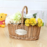 Unique Design Customized Eco-Friendly Home Decorative Wicker Basket Willow Basket