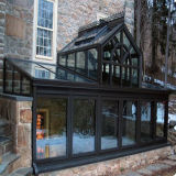 2016 Newest Commercial Glass Houses Professional Manufacturer Portable Style Aluminium Sun Room (TS-541)