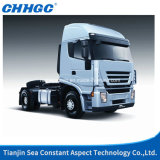 Saic Genlyon 4X2 Left Hand Drive 380HP Truck Head / Trailer Head / Tractor Truck with Gray Color of Euro 3