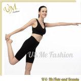 Women Indoor Yoga Wear Bra Shorts Sets Tights Bodybuilding Sportwear