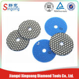 Wet and Dey Flexible Diamond Polishing Pad for Polishing (Singong)