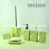 Polyresin Bathroom/Bath Accessories Set (WBP0232B)
