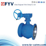 Gear-Operated Eccentric Semi V-Type Ball Valve