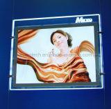 Magnetic Open Acrylic LED Advertising Light Box with Logo