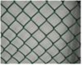 Qym-Plastic Coated Chain Link Fence
