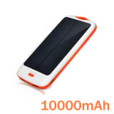 10000mAh High Capacity Solar Power Bank Charger/Emergency Charger