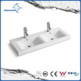 Ceramic Cabinet Basin and Vanity Top Hand Washing Sink (ACB2204)