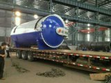 Diameter 3.3*15m Glass Autoclave Device
