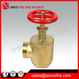 """1.5""""/2.5"""" Fire Hose Angle Valve as a Fire Department Outlet Connection"""