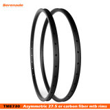 Super Stiff Offset Style 29 Inches Hookless Rims for Mountain Bicycle 32h Bike MTB 29er Carbon Rim