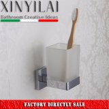 Italian Modern Square Design Single Wall Mount Tumbler Holder