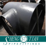Carbon Pipe Fitting Seamless Tee Sand Vanished