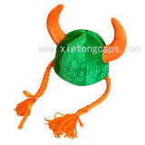 Festival Hat with 2 Oxhorns (JRA006)