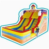 Cheer Amusement Clown Themed Children Inflatable Slide Amusement Equipment