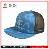 Flat Visor Mesh Back Trucker Snapback Hat