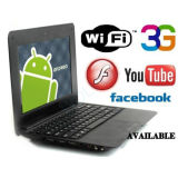 New Version 7 Inch Touch Screen Android Mini Laptop Computer (UMPC-701)