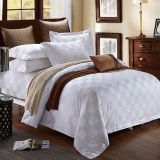 Hotel Oxford Cream Jacquard Duvet Cover/Bedding Set