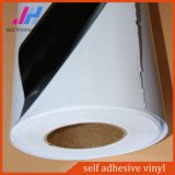 Inkjet Promotional PVC Black Self Adhesive Backed Vinyl for Advertising