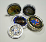 Different Size Acrylic Coin Box with Coins