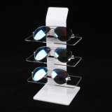3 Pairs Plexiglass Sunglass Display Rack for Wholesale