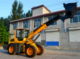 China New 1.3m3 Bucket Telescopic Boom Loader