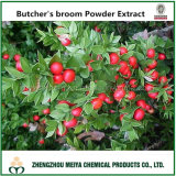 100% Natural Factory Supply Butcher′s Broom Powder Extract with Ruscogenins 10%-20% HPLC