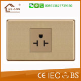 Flame Retardant PC Plastic Air Conditioner Electrical Wall Socket