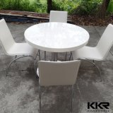 Artificial Stone Solid Surface Restaurant Round Dining Table