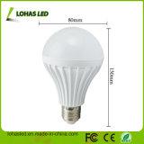 2017 China Supplier LED Plastic Bulb Light Ce RoHS Energy Saving LED Bulb Light High Power E27 12W SMD5730 LED Bulb