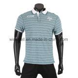 Yarn Dye Striped T Shirt for Men