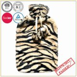Hight Quality Hot Water Bottle with Tiger Design Plush Cover