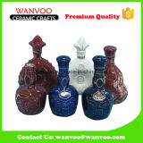 Different Designs Classical Ceramic Wine Bottle for Collectible Decor
