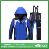 Winter Thermal Cotton-Padded Kids Snow Suits Waterproof Ski Coats