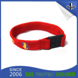 Fashion Braide Silk Screen Polyester Hollow Wristband in UK