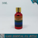 1oz 30 Ml Gold Cap Rainbow Cosmetic Glass Bottles