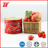 Star Brand Healthy 850g Canned Tomato Paste of High Quality