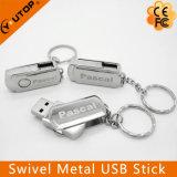 Custom Laser Engraving Logo Metal Swivel USB Memory Stick (YT-1210)