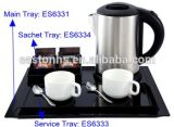 1.0L Stainless Steel Cordless Electric Kettle