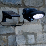 Solar Powered 10 LED Security Wall Light