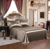 Taihu Snow Elegance Series Oeko-Tex 100 Standard Silk Seamless 19momme Real Luxury Silk Bedding Set Silk Duvet Cover