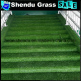 20mm and 25mm Low Height Artificial Turf with 14700tuft for Stairs